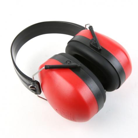 Casque de protection oreillette auditive anti-bruit.
